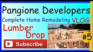 New Home Remodeling Vlog - Lumber Drop Home Improvement Project