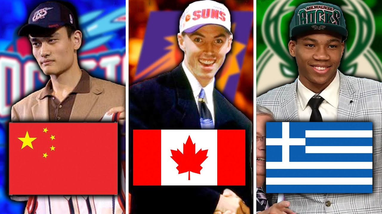 The BEST NBA Player Drafted From EVERY COUNTRY