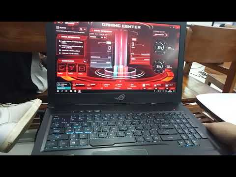 ROG gaming center problem force close - YouTube