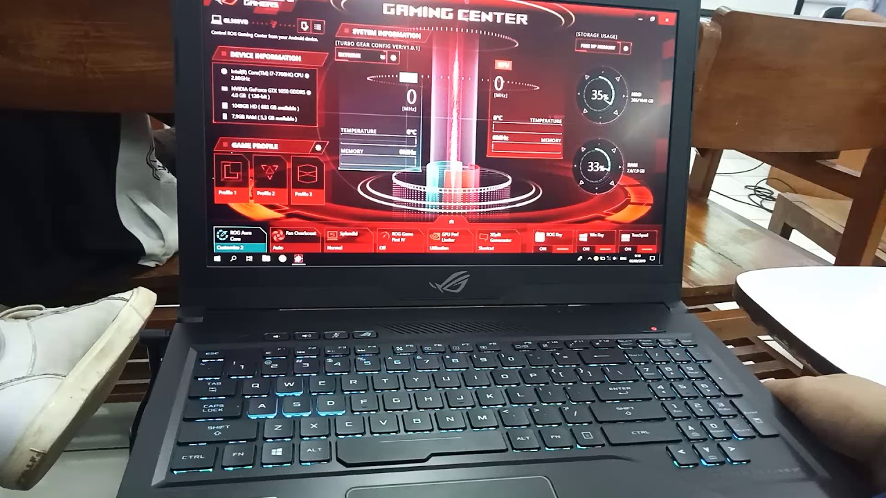 ROG gaming center problem force close - Gaming Point