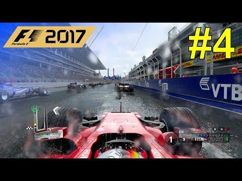 F1 2017 - Let's Make Vettel World Champion Again #4 - 100% Race Russia