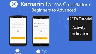 Video Xamarin forms Activity Indicator for Log In[Tutorial 25] download MP3, 3GP, MP4, WEBM, AVI, FLV Oktober 2018