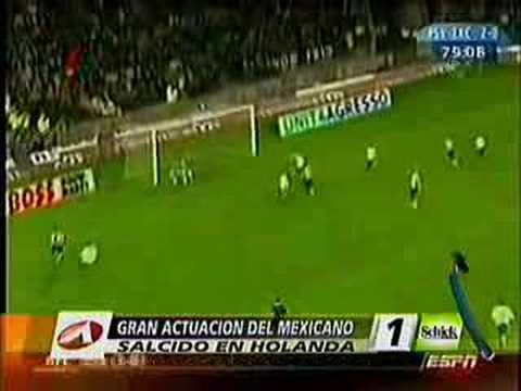 Gol de Carlos Salcido contra excelsior