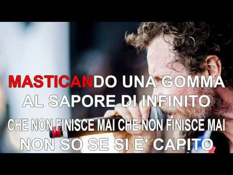 Jovanotti - Gli immortali - Karaoke con testo