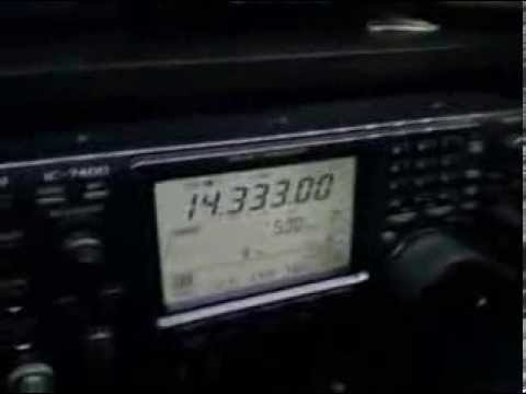 Collegamento radio HF con base antartica italiana Mario Zucchelli - IA0MZ