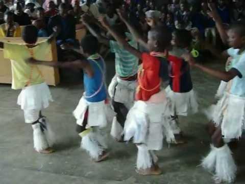Basotho Boys Perform Stomp Dance