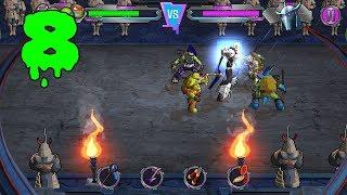 ПОСЛЕДНИЙ БОСС ТЕНЕВОГО МИРА ШРЕДДЕР - ФИНАЛ ИГРЫ - Teenage Mutant Ninja Turtles: Portal Power - #8
