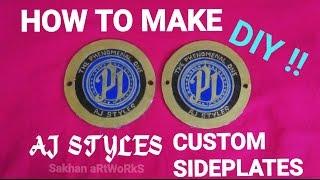 Hoe maak Aj Styles aangepaste zijplaten