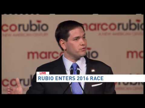 Sen. Marco Rubio announces 2016 presidential bid in Miami