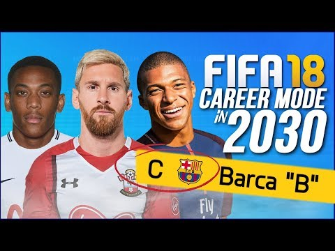 FIFA 18 CAREER MODE 2030!!! | RESERVE TEAM WINS THE CHAMPIONS LEAGUE?!