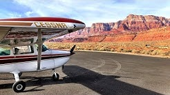 Landing INSIDE the Canyon! - Flying the Grand Canyon