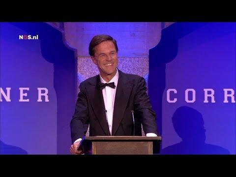 Jan Slagter kan niet lachen om grap Mark Rutte