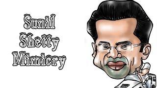 Funny Mimicry Of Sunil Shetty | Abin Sinha