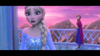 [HD] Frozen - For the First Time in Forever - Reprise [Russian]