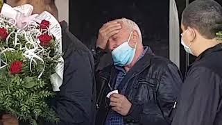 Era Ojdanić u suzama na sahrani Bore Drljače - 14.10.2020.