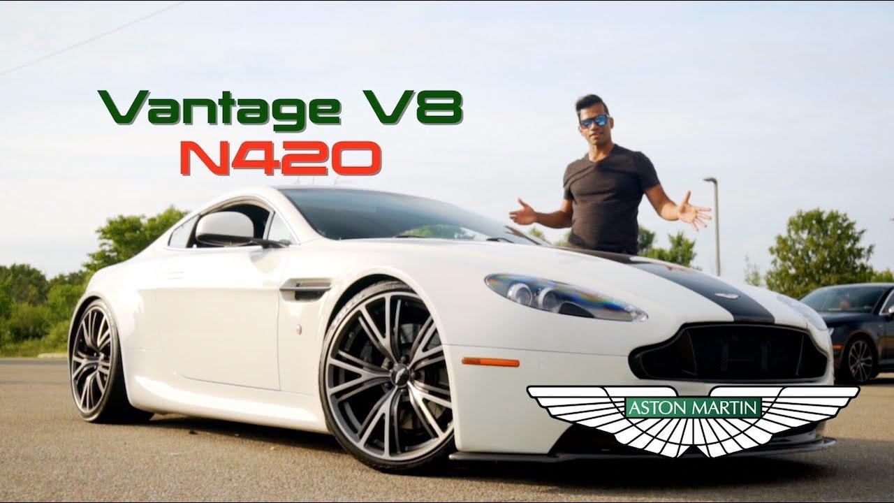 A Bargain Under 100k Aston Martin Vantage V8 N420 Youtube