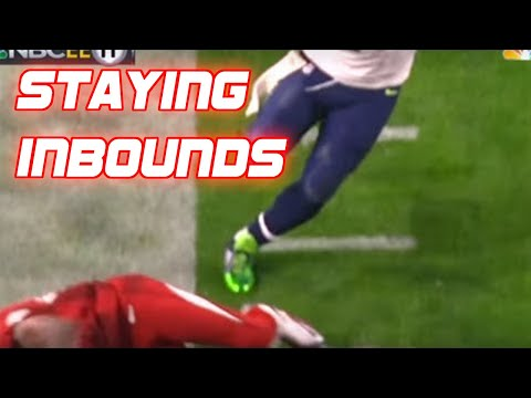 NFL  Staying Inbounds  Moments