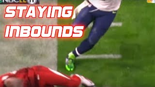 "NFL ""Staying Inbounds"" Moments"