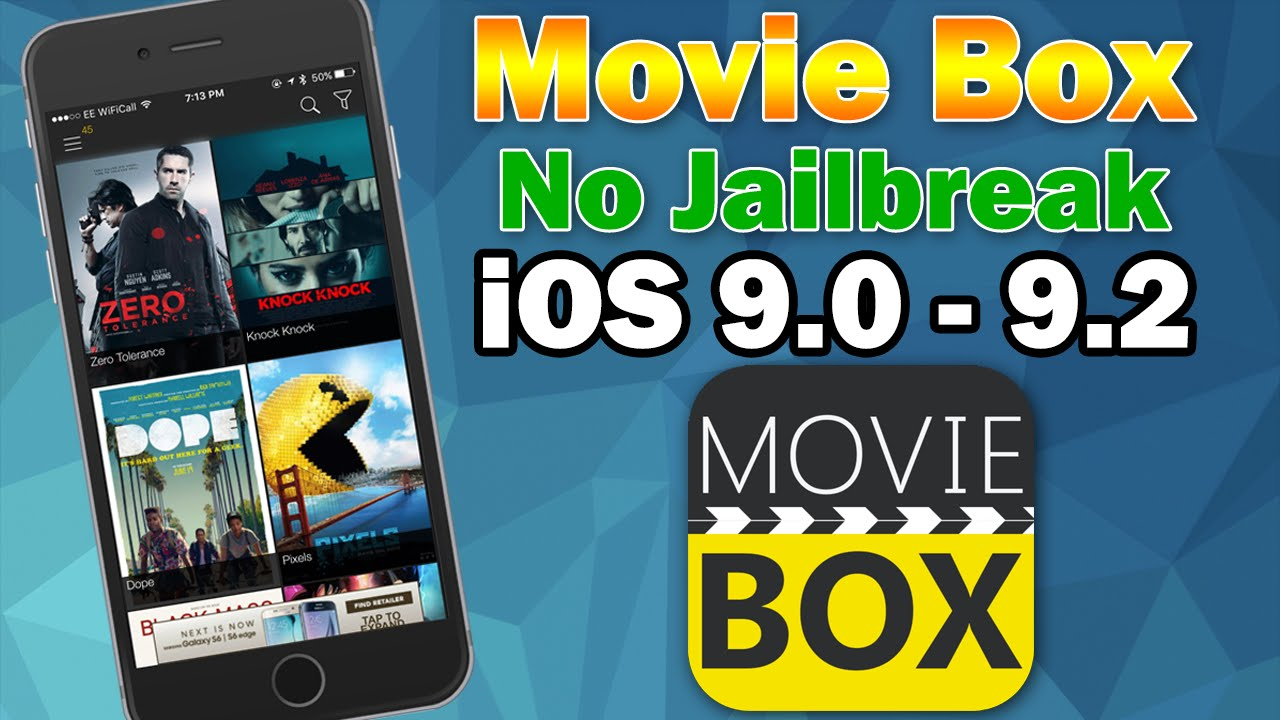 movie box iphone ios 9 0 9 2 1 how to install box on iphone ipod 12661