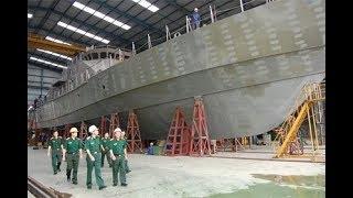 Việt Nam đóng mới thành công 21 tàu quân sự
