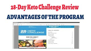 28-day keto challenge review - advantages of the program