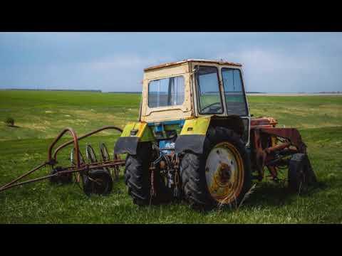 Брошенная сельхозтехника в россии #1