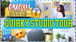 OMG MY STUDIO TOUR 2019! Quirky Studio *Revealed* FINALLY | ThatQuirkyMiss