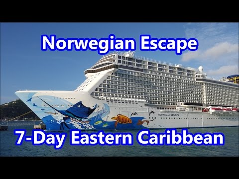 Norwegian Escape 7-Day Eastern Caribbean Vacation. Nov.14, 2015