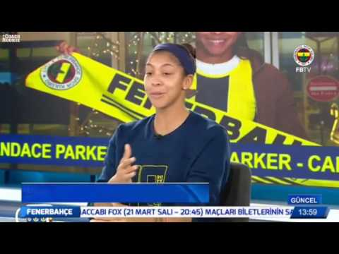 First Message of Candace Parker of Fenerbahçe Fans | Candace Parker