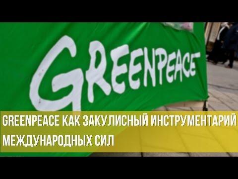 Константин Черемных. Greenpeace как закулисный инструментарий международных сил