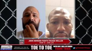 WSOF 31's John Howard discusses clinical autism diagnosis