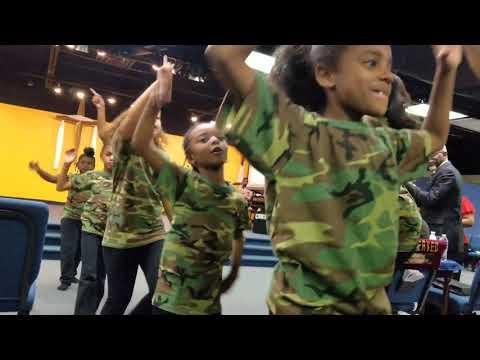 I'm Walking youth praise dance