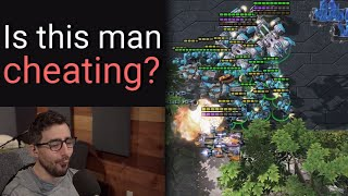 Starcraft 2: Is this streamer cheating?