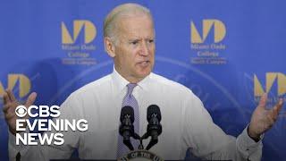 Joe Biden close to announcing 2020 run, CBS News has learned
