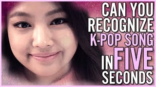 Video GUESS KPOP SONGS IN 5 SECONDS download MP3, 3GP, MP4, WEBM, AVI, FLV Mei 2018