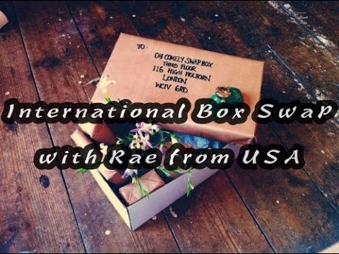 International Box Swap with Rae from USA