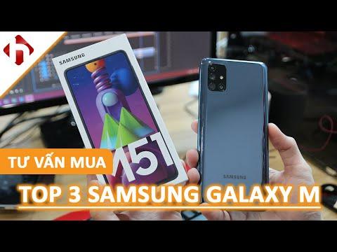 Tư vấn mua | TOP 3 Samsung Galaxy M 4 triệu đến 8 triệu nên mua nhất đầu năm 2021