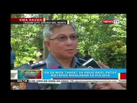 Drug Raid sa Madaum, Tagum City