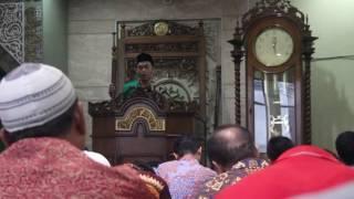 Gus Hayid: Khutbah Jum'at Di Masjid Pbnu