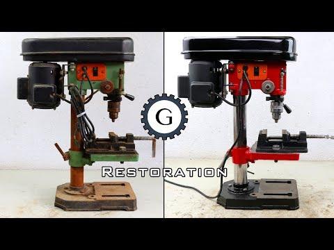 Drill Press Restoration   Easy & Simple Restoration