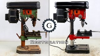 Drill Press Restoration | Easy & Simple Restoration