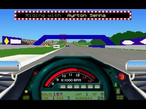 "Formula 1 Grand Prix (PC/DOS) ""World Circuit"" 1991, MicroProse"