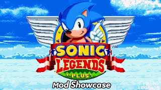 Sonic Mania Plus | Mod Showcase | Sonic Legends (Beta ver. Found in the files)