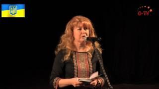 Презентация сборника стихов про войну русскоязычной поэтессы Инессы Доленник на украинском языке.
