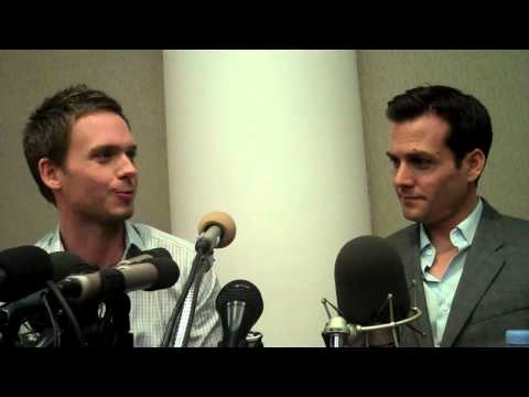GABRIEL MACHT AND PATRICK J. ADAMS TALK ABOUT THEIR CHARTCTERS ON 'SUITS'.mp4