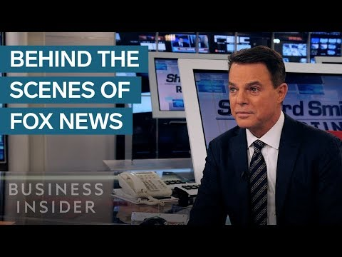 Behind The Scenes With Fox News Star Shepard Smith
