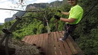 Krabi Tree Top Adventure Park - Red course