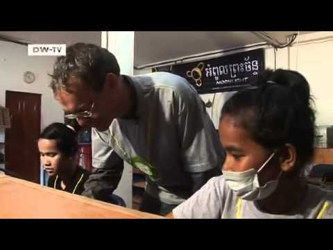 Cambodia - Electricity from the Sun and Rice Husks   Global 3000