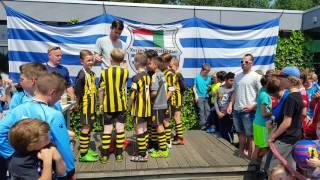 "Wilhelmus E4 selectie 1e op Xerxes ""Michiel Kramer"" toernooi 4-4-2016"
