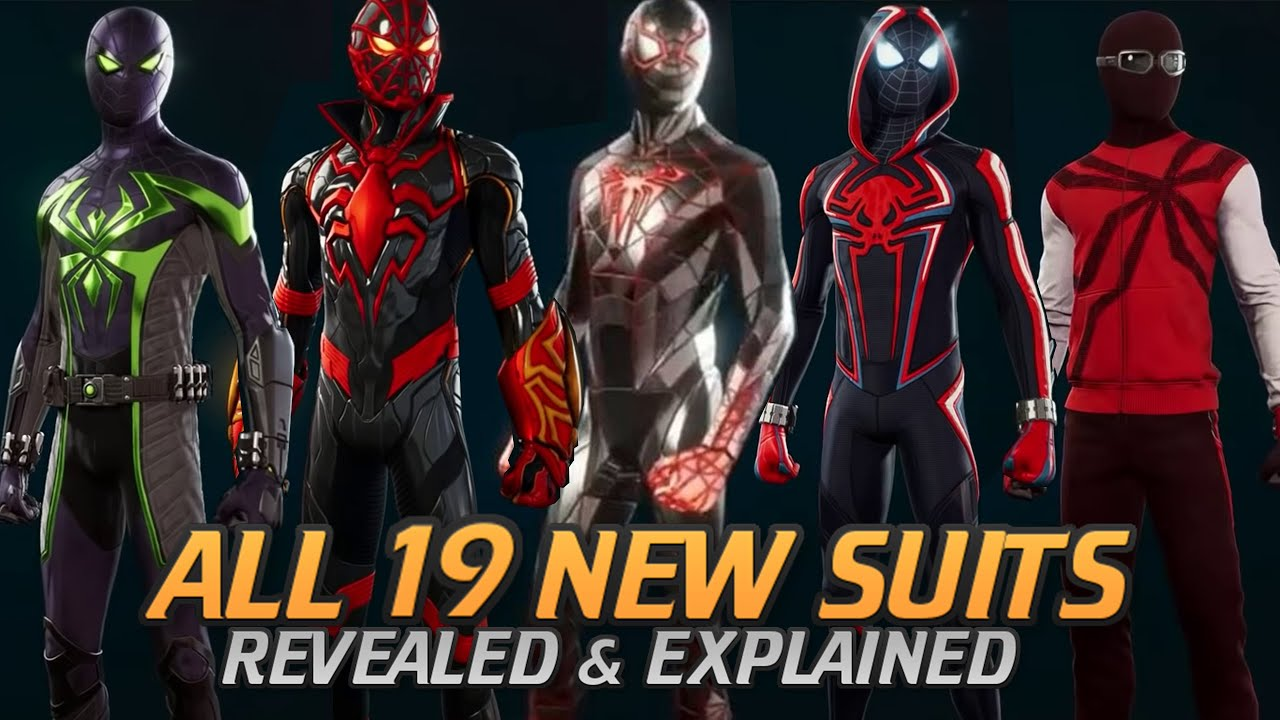 Spider-Man: Miles Morales PS5: ALL 19 SUITS EXPLAINED! (No Story Spoilers)